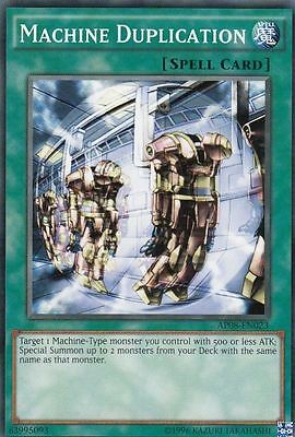 Machine Duplication     3 Available   P  Played Mixed Sets Ap08  Rds Yugioh
