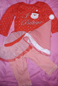 3 piece Christmas outfit