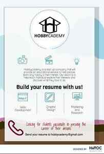 Looking for build your work experience?