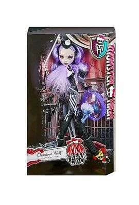 Monster High Doll - Freak Du Chic - CLAWDEEN WOLF - New