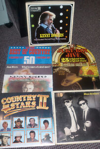 Vinyl Records - 5 each