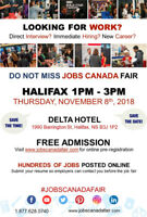 Free: Halifax Job Fair