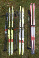 Youth Cross County Ski Equipment - skis, boots, poles