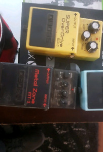 2 BOSS guitar pedals. 50$ for both, 30$ ea