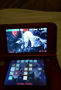 New 3dsxl red A9LH installed+AuReiNand cfw with 64 gb micro sd