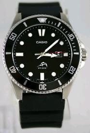 BRAND NEW CASIO DURO MDV-106-1AV 200M MENS MARLIN DIVER WATCH RRP £100