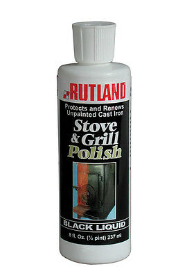 RUTLAND Stove & Grill Polish (8oz Black - Stove Polish