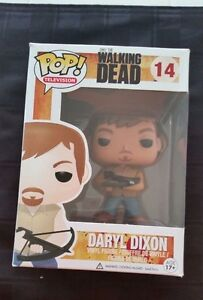 Daryl Dixon The Walking Dead Funko Pop #14 Vinyl Figure Brand Ne