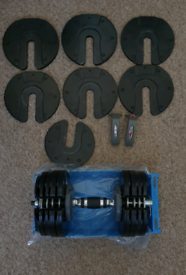 BodyMax Adjustable Selectable Dumbells 5-32.5kg For parts or repair