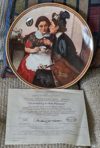 Rockwell's Rediscovered Women Collector Plates