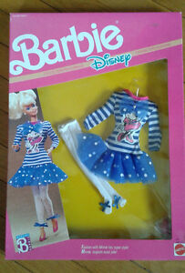 Barbie Disney Collection Fashion 1990 still in box Great Gift!