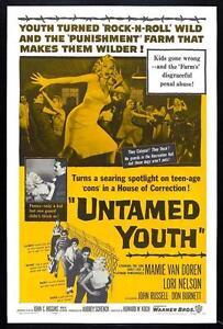UNTAMED YOUTH EDDIE COCHRAN MOVIE.DVD.ROCK N ROLL/ROCKABILLY