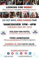 Vancouver Job Fair - May 28th, 2019