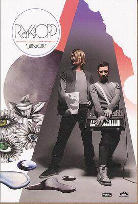 Royksopp Junior RARE promo collectible card '09