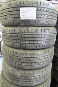 P225/65/17 Kumho Solus KH16 (60-70% TREAD) (4 TIRES) NOTHING BUT