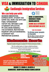 Canadian Visa, Immigration, PR, Citizenship, passport Services