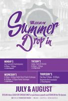 Summer Drop In Classes at Legacy