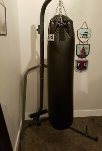 """Select""  Punching Bag and Free Stand"