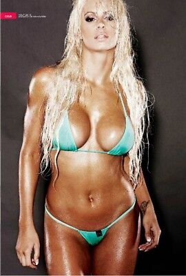 WWE Diva Maryse Ouellet Poster (Sexy Hot Bikini) #6