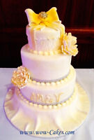 WEDDING CAKES…Gateaux marriage..
