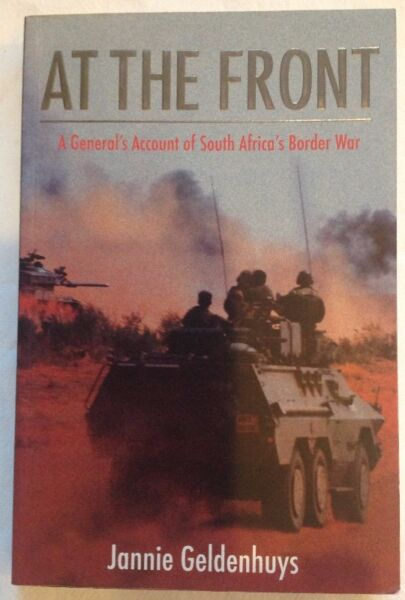 At The Front - General Jannie Geldenhuys - as new - gift quality