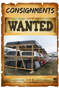 Consign Your Truck Canopy SpaceKap Utility Trailer With Us !!
