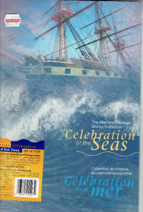 "Collection de timbres neufs ""Celebration of the Seas""."