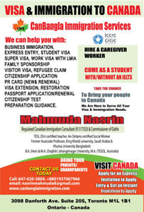 Planning to visit, immigrate or study in Canada?