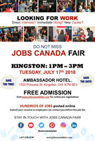 Free: Kingston Job Fair – July 17th 2018