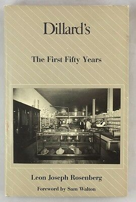Scarce Dillards The First Fifty Years Rosenberg Department Store History Hbdj