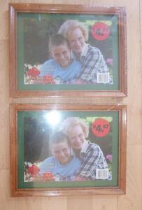 2 NEW wooden frames