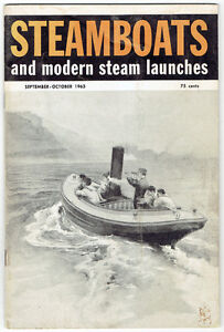 "Nine 1961/62/63 ""Steamboats and Modern Steam Launches"" Magazines Kingston Kingston Area image 9"