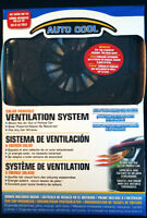 Solar Powered Car Auto Air Vent Cooling Fan - NEW