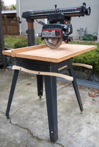 """10"""" Radial Arm Saw,  Excellent"""
