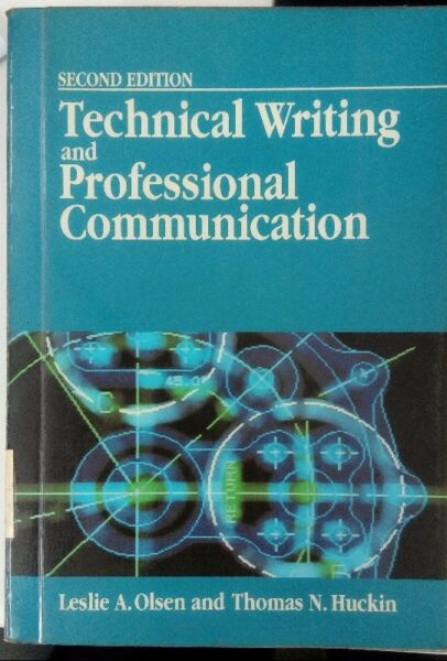 Book - Technical Writing and Professional Communication