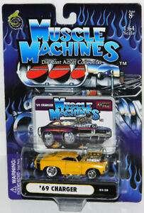 Muscle Machines 1/64 '69 Charger Diecast Car
