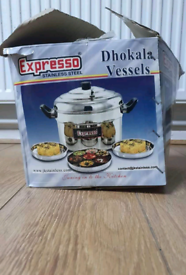 Khaman dhokla stainless steel vessels