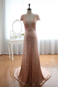 Champage Gold Sequins dress