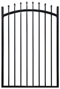 JASPER ARCHED SINGLE IRON ORNAMENTAL GATE