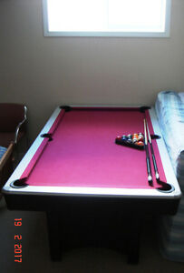 Pool Table still available for $300/= only