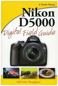 Nikon D5000 for Dummies in full color book