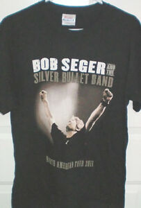 Bob Seger and The Silver Bullet Band Concert T and Live CD London Ontario image 2