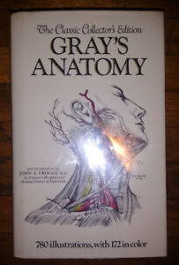 """GRAY'S ANATOMY"" 1901 Edition. Huge Vintage Medical Book"