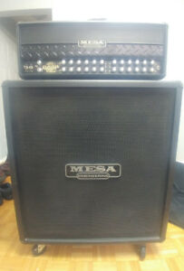 Mesa Boogie Dual Rectifier Roadster and mesa 4×12 straight Cab