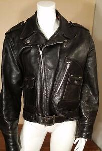 Vintage Veste de Moto  /  Motorcycle Vintage Jacket /