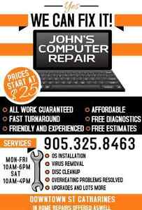 All your computer repair needs