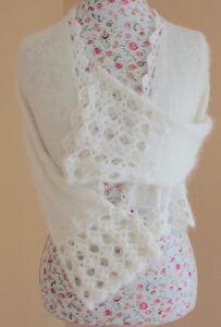 Wedding Bolero Kate Middleton Sweater Blend of Goat Angora Edmonton Edmonton Area image 5