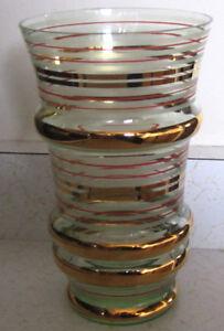 Vintage Glass Vase 1960s