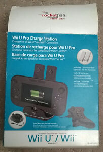 Wii Remote + Wii U Controller Charger