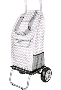 Trolley Dolly Shopping Grocery Foldable Cart